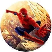 """Картинка на вафельной бумаге """"Человек-паук"""""""