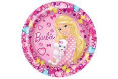 """Съедобная картинка на торт """"Барби"""""""
